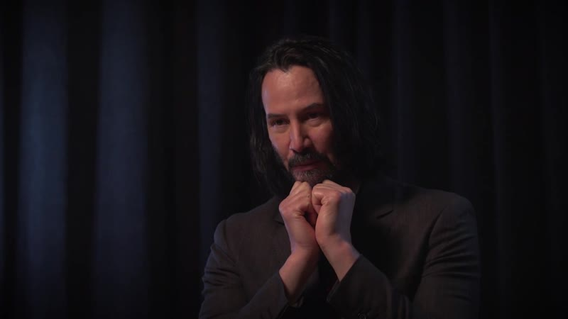 Keanu Reeves Talks About Whats Cool in Cyberpunk 2077