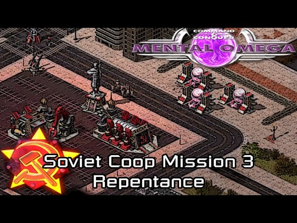 Mental Omega 3.0 Red Alert 2 Act I - Soviet Coop Mission Repentance