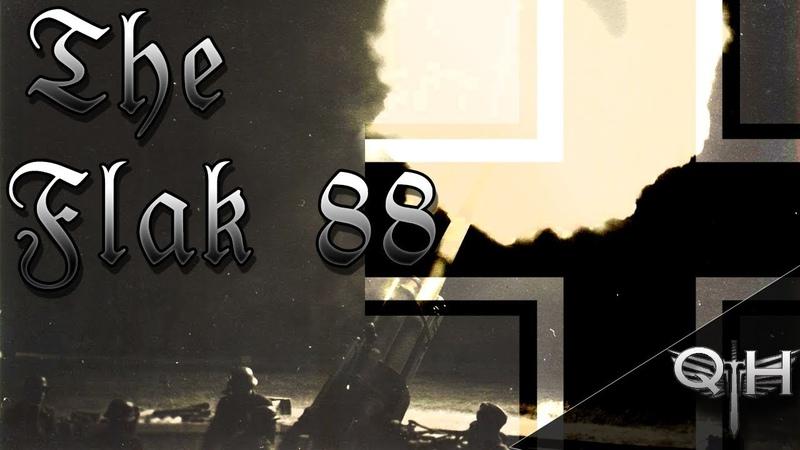 THE FLAK 88 - INTENSE WORLD WAR 2 FOOTAGE