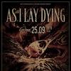 AS I LAY DYING (US) | 25.09.19 | Мск (GlavClub)