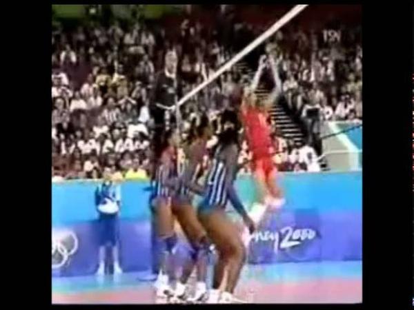 OG2000雪梨奧運女排預賽→俄羅斯vs古巴 set 2 - 5