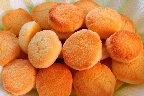 Вкусное домашнее печенье на сковороде.