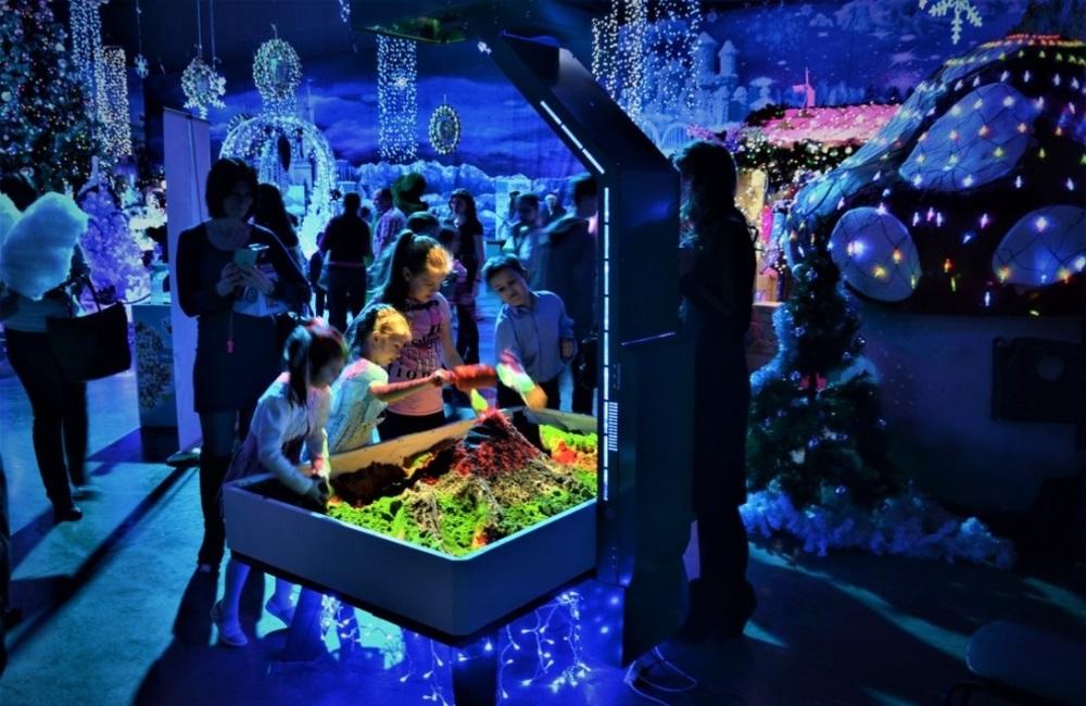 Интерактивные песочницы ставят в ДОУ и в торгово-развлекательных центрах