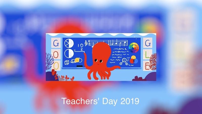 4 | Teachers Day 2019 - Google Doodles