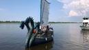Ладья «Змей Горыныч» в Нижнем Новгороде