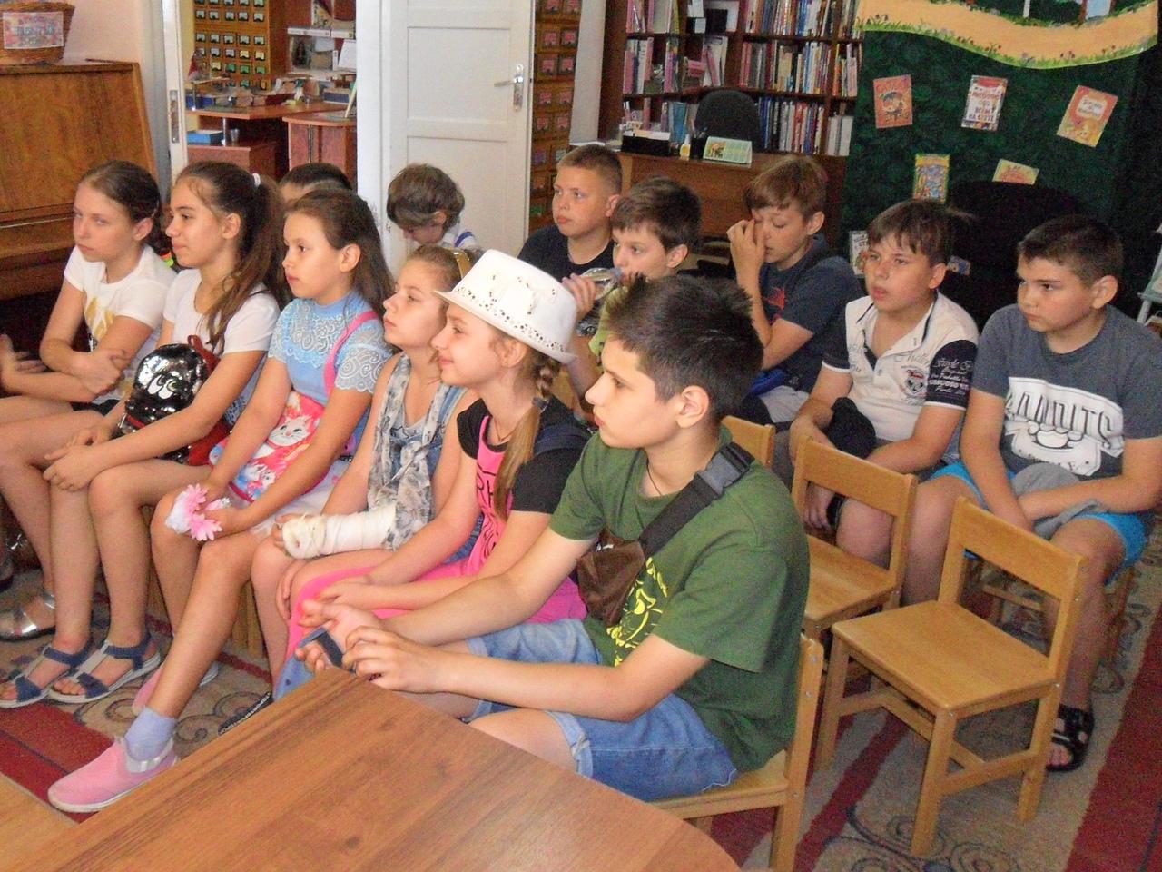 отдел искусств, Донецкая республиканская библиотека для детей, лето в библиотеке, работа с пришкольными лагерями, пушкин