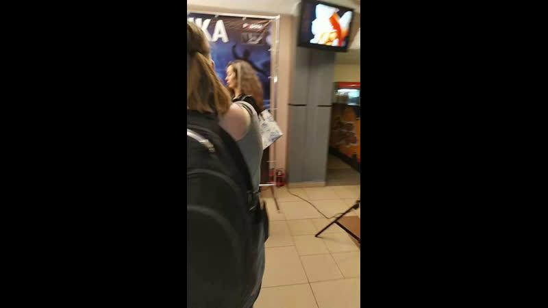 Премьера фильма Ополченочка в Луганске