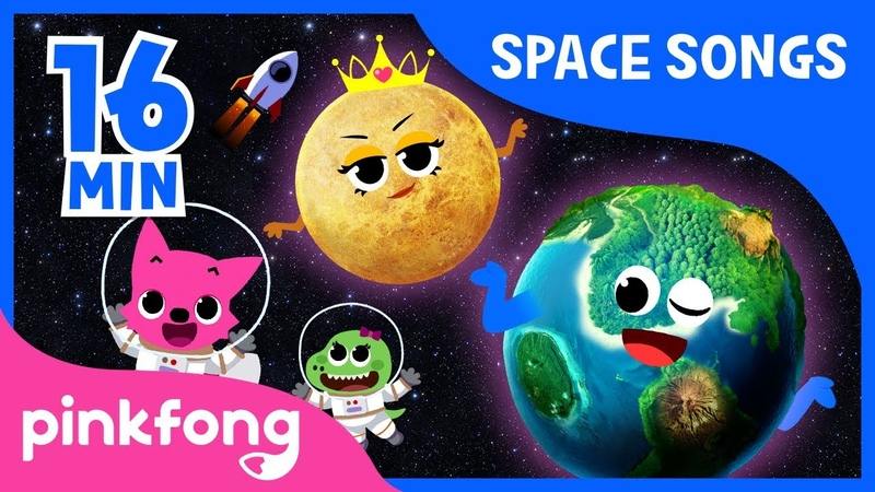 Eight Planets and more Space Songs Compilation Pinkfong Songs for Children