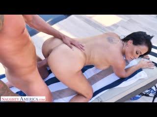 Reagan foxx sharon fuller reagan foxx fucks by the pool porno, ball licking, big tits, deepthroat, mature, porn, порно