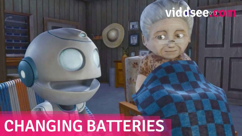 Changing Batteries - A Robot Son Couldn't Replace The Emptiness In Her Heart Viddsee.com