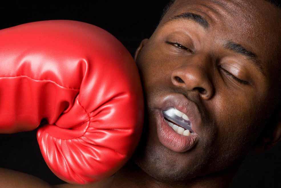 Боксеры могут сжигать более 1000 калорий в час в тренажерном зале.