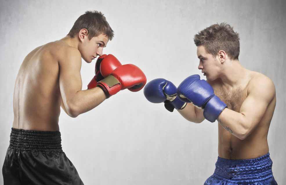 Бокс может сжечь больше калорий, чем многие часто используемые упражнения.