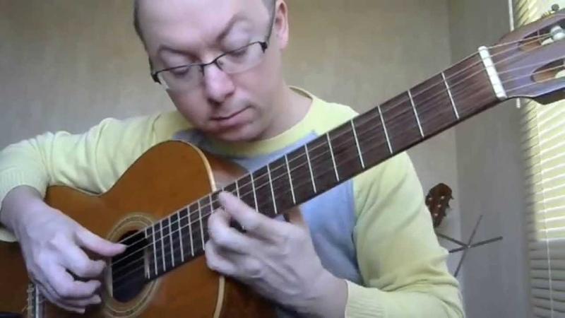 Шербурские зонтики на гитаре | Александр Фефелов
