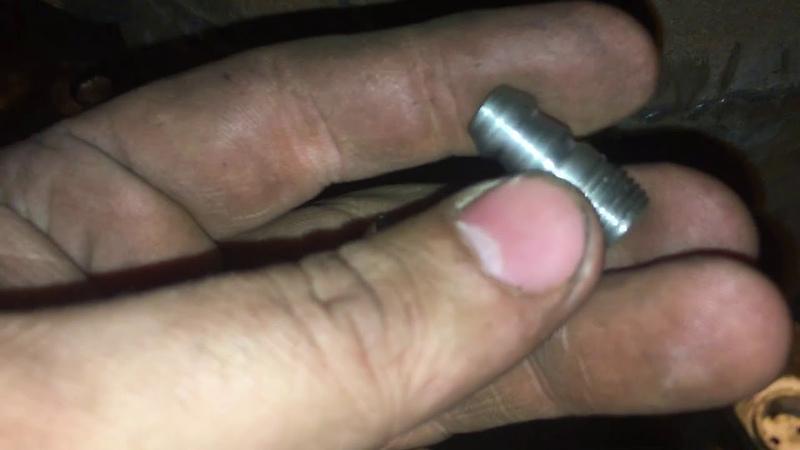 Штуцер Для Подачи Масла В Упорный Узел Гранулятора Oil In Persistent Knot of the Granulator