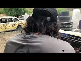 Keanu Reeves Training with Taran for John Wick_ Chapter 3 - Parabellum.mp4