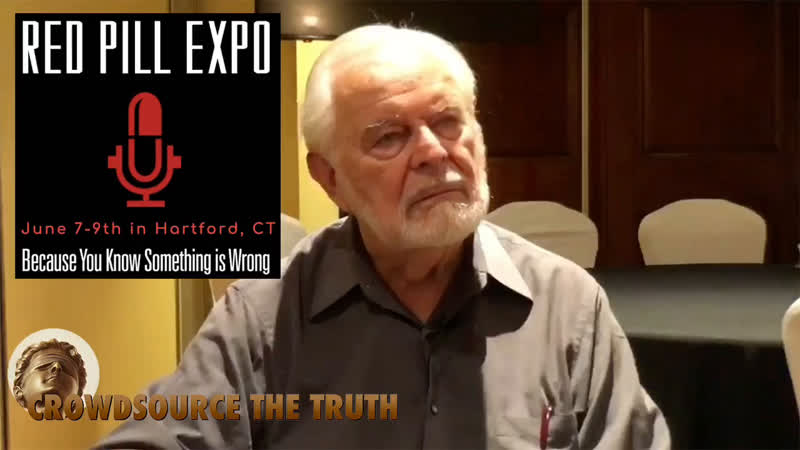 G Edward Griffin's Red Pill Expo is June 7 9 in Hartford CT