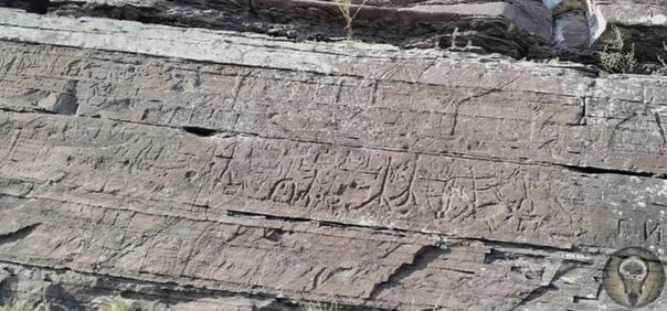 Древние рисунки Хакасии, которые можно заметить утром или на закате петроглифы на хребте Бояры Впервые интересная группа петроглифов в Хакасии на «священном» хребте Бояры, была обнаружена
