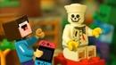 КАК ПОЯВИЛСЯ БОРЬКА Лего НУБик Майнкрафт Смешные Мультики - LEGO Minecraft Animation