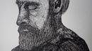 Texture Practice - Pen Drawing | Art