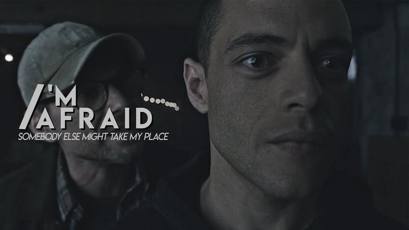 Elliot Alderson ✘ Im afraid somebody else might take my place. [MR. ROBOT]