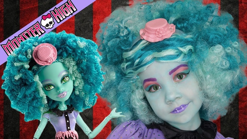 КОСПЛЕЙ ХАНИ СВОМП! 💀 Монстр Хай: костюм, макияж, парик в стиле Школы Монстров. Грим на Хэллоуин