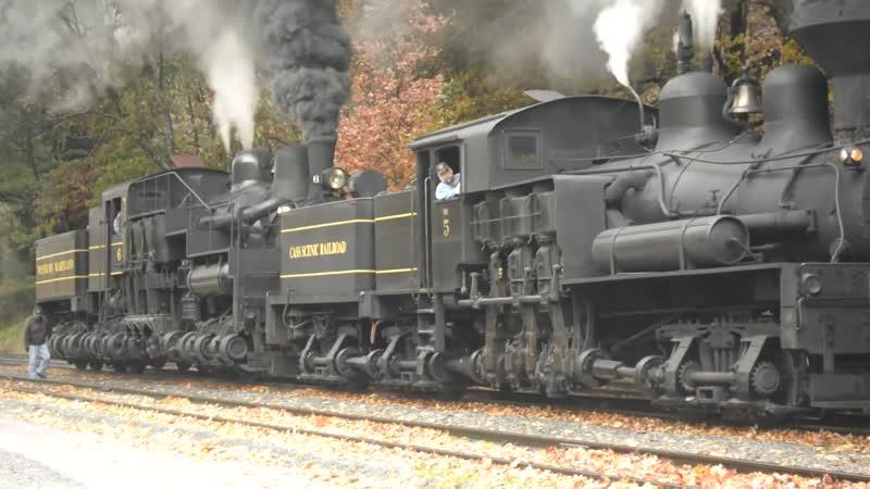 Cass Scenic Railroad Appalachian Fall Foliage