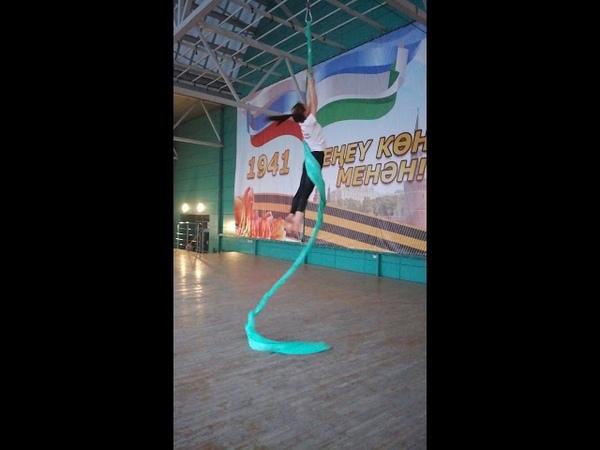 Воздушная акробатика г Сибай Маннапова Алина