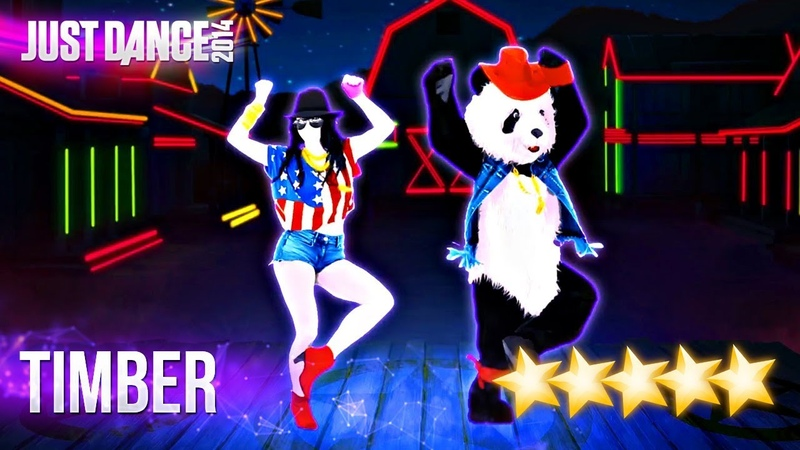 Just Dance 2014: Timber - 5 stars