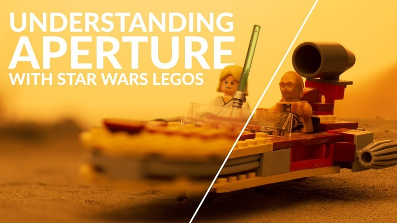 Learn Camera Basics with Star Wars LEGO!   APERTURE Tutorial