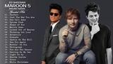Bruno mars, Charlie Puth, Ed Sheeran - Greatest Hits Songs 2019 Best Pop Songs Ever 2019