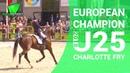 European Champion U25 Charlotte Fry Exloo (NL) 2018