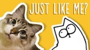 Just Like My Cat Simon's Cat Snaps FAN VIDEOS