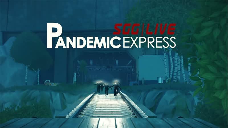Pandemic Express | Умчать на поезде под ружейную канонаду или быть съеденным.