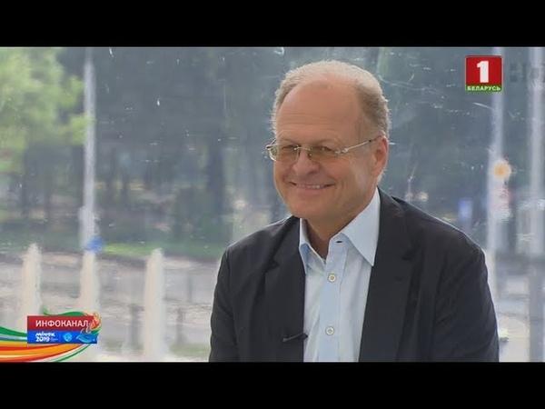 Инфоканал АТН почетный консул Беларуси в Словении Янез Шкрабец