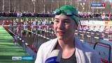 Сегодня впервые в Карелии стартовал Этап Кубка мира по зимнему плаванию