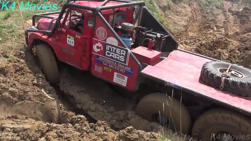 6x6 Trucks in Truck Trial _ Off-Road _ Straz Pod Ralskem, Czechia 2018