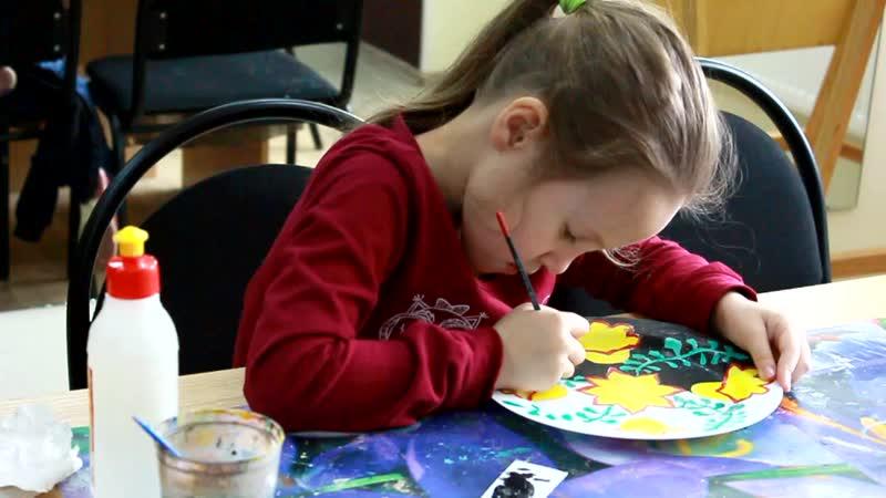 Видео с занятий Изобразительное искусство