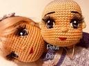 Como bordar ojos muñeca Petus amigurumis by Petus