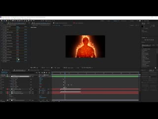 Human Torch After Effects Tutorial! Film Learnin