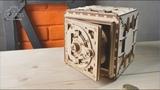 Настоящий деревянный сейф от Ugears (ver.2)