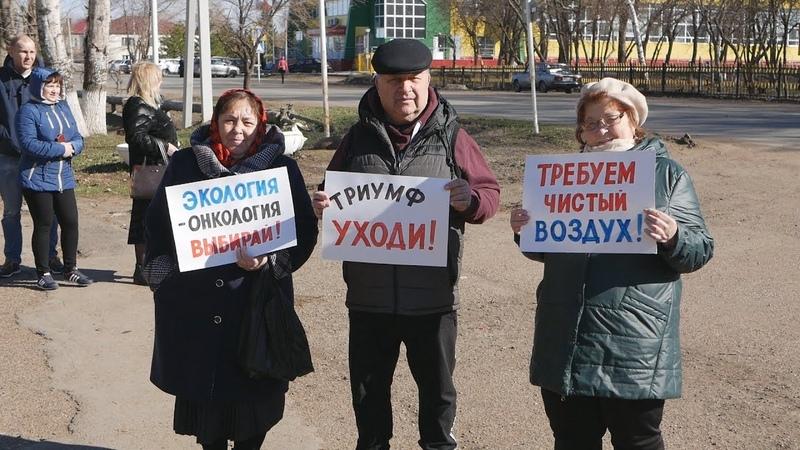 UTV. В Переволоцком районе жители жалуются на постоянные выбросы вредных веществ