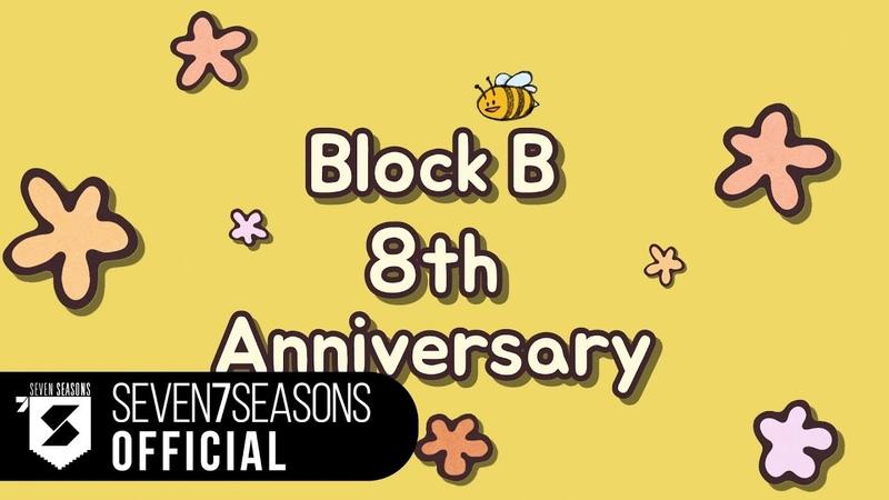 Block B 8th Anniversary