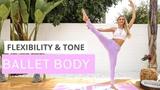 Rebecca Louise - Ballet Body workout Баррная тренировка для стройных ног (с фитнес-резинкой)
