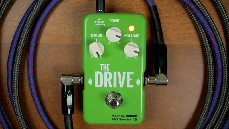 EBS The Drive [Bass Demo]