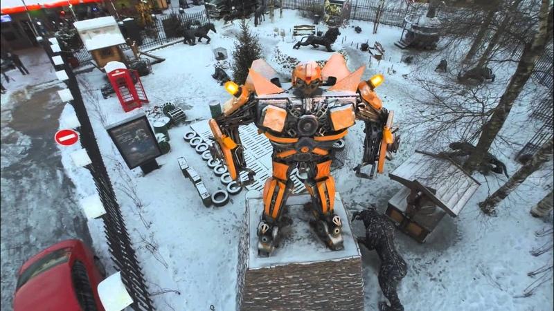 Музей Восстания Машин dron полет HD