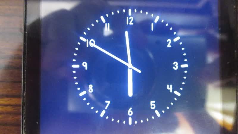 Реконструкция часов канала Звезда и начало новостей в 18 часов.