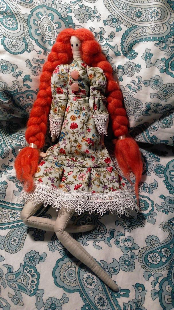 «Изготовление тканевой интерьерной куклы»