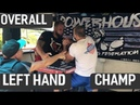 OVERALL ARM WRESTLING LEFT HAND CHAMPION armsport armwrestling