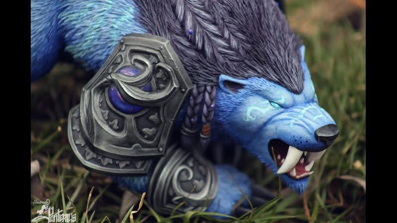 Друид Claws of Ursoc / Когти Урсока (ночной эльф) (World of Warcraft)