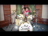 Difficult to Cure Rainbow (ode to joy Beethoven) Drum cover- JUNNA